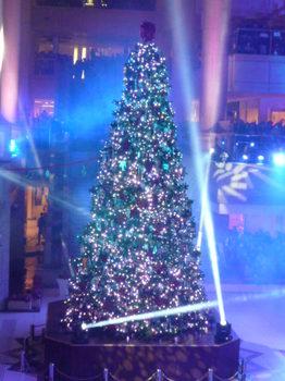 ランドマーク&クイーンズスクエアのイルミ121223-03.JPG